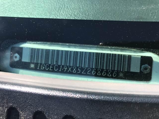 2005 Chevrolet Silverado 1500 for sale at Rainbow Motors in El Paso TX