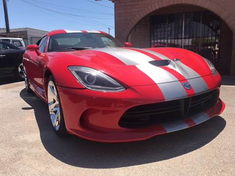 2013 Dodge SRT Viper for sale at Rainbow Motors in El Paso TX