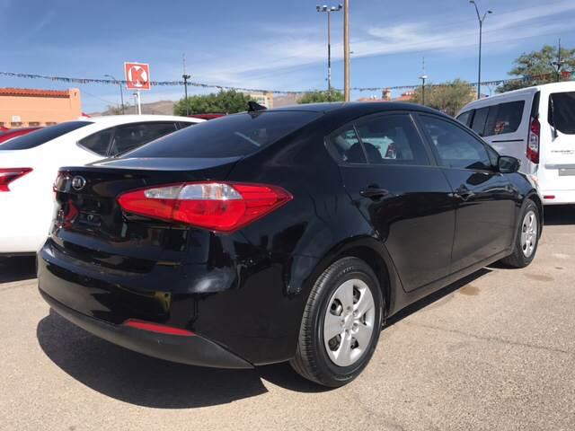2015 Kia Forte for sale at Rainbow Motors in El Paso TX