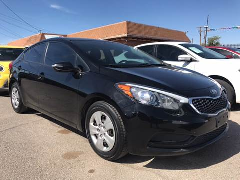 2015 Kia Forte for sale at Rainbow Motors in El Paso TX