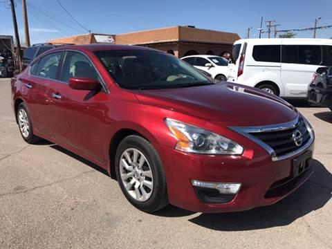2014 Nissan Altima for sale at Rainbow Motors in El Paso TX