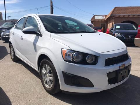 2016 Chevrolet Sonic for sale at Rainbow Motors in El Paso TX