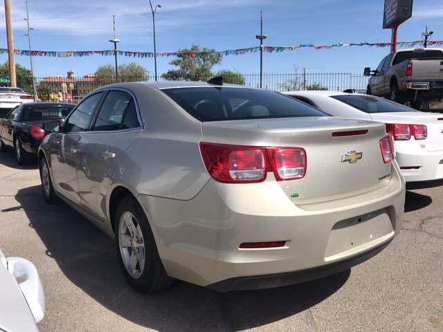 2015 Chevrolet Malibu for sale at Rainbow Motors in El Paso TX