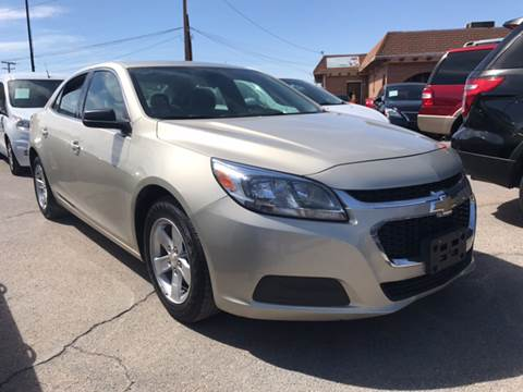 2015 Chevrolet Malibu for sale at Rainbow Motors in El Paso TX