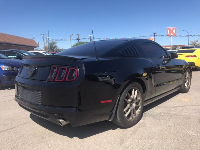 2014 Ford Mustang for sale at Rainbow Motors in El Paso TX