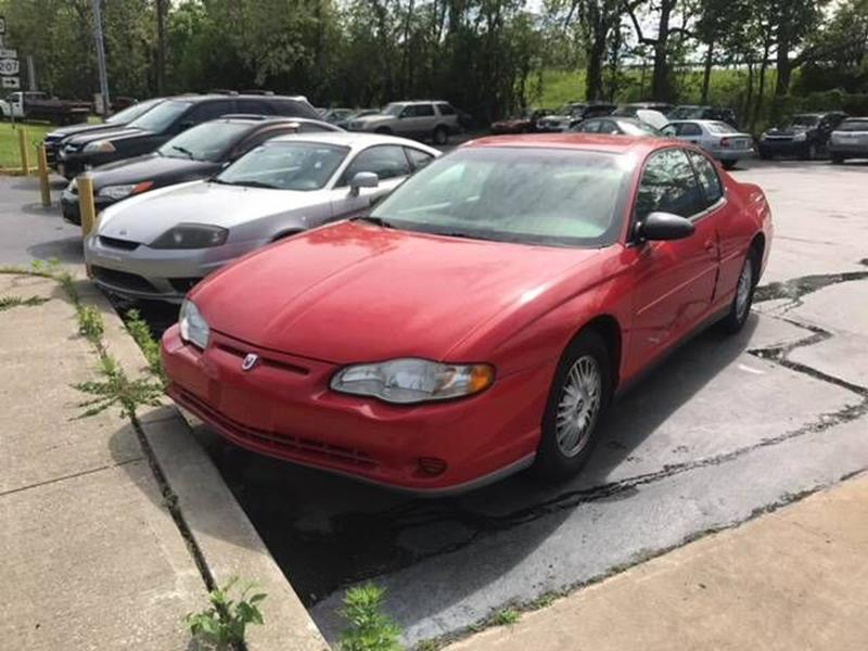 2002 Chevrolet Monte Carlo for sale at Premier Auto Sales Inc in New Windsor NY
