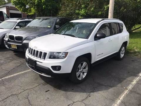 2016 Jeep Compass for sale at Premier Auto Sales Inc in New Windsor NY