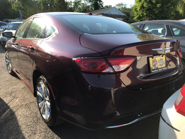 2016 Chrysler 200 for sale at Premier Auto Sales Inc in New Windsor NY