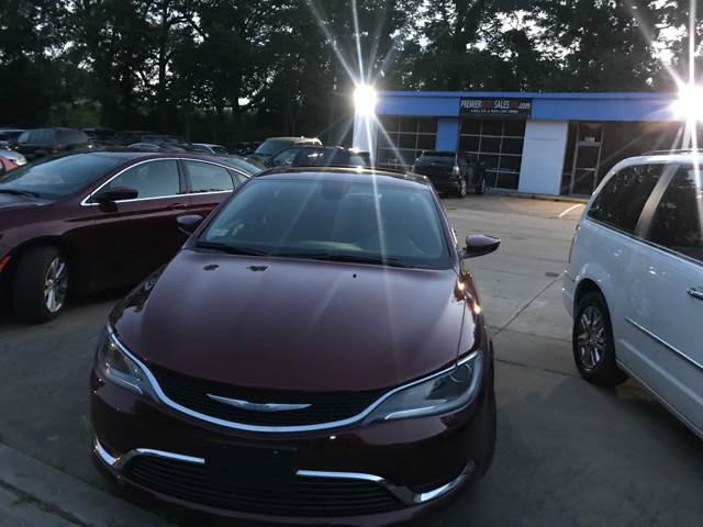 2015 Chrysler 200 for sale at Premier Auto Sales Inc in New Windsor NY