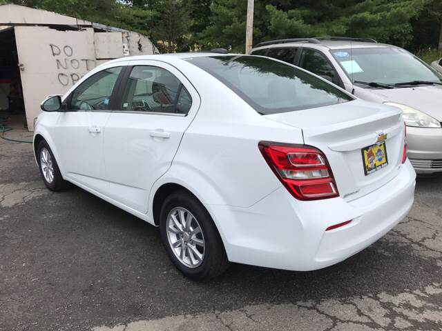 2017 Chevrolet Sonic for sale at Premier Auto Sales Inc in New Windsor NY