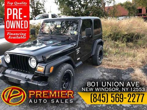 2001 Jeep Wrangler for sale in New Windsor, NY
