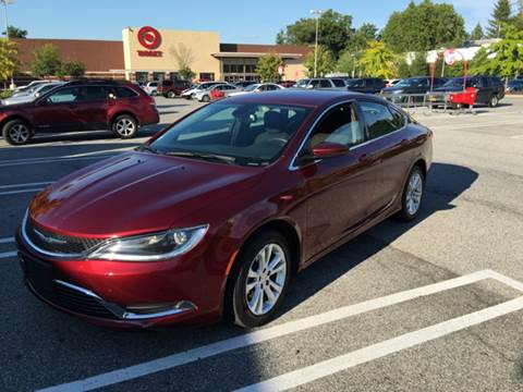 2015 Chrysler 200 for sale in New Windsor, NY