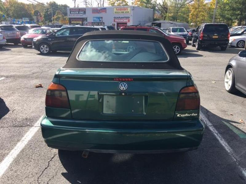 1997 Volkswagen Cabrio for sale at Premier Auto Sales Inc in New Windsor NY