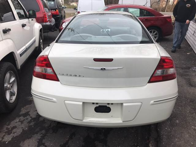 2004 Chrysler Sebring for sale at Premier Auto Sales Inc in New Windsor NY