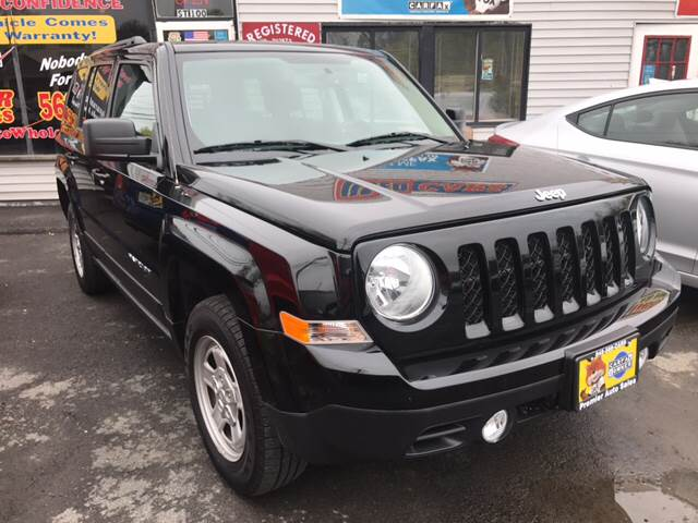 2016 Jeep Patriot for sale at Premier Auto Sales Inc in New Windsor NY