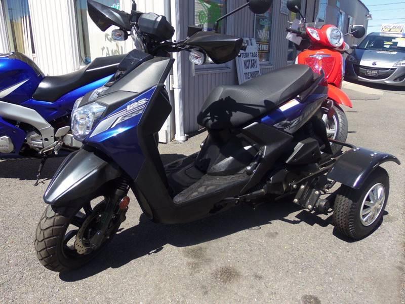 2016 Yamaha Zuma Yw 125Cc 3 Wheel Trike In Easton PA
