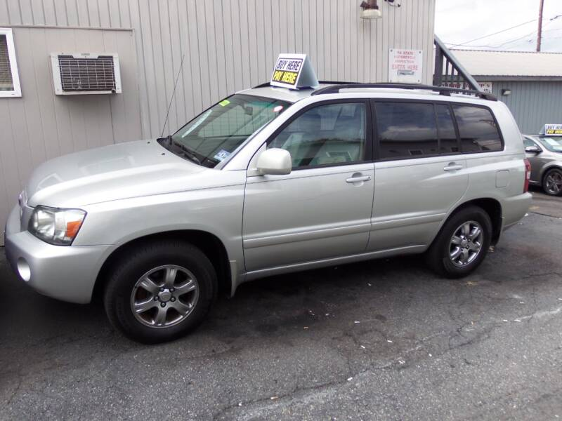2004 Toyota Highlander Limited 4dr SUV w/3rd Row - Easton PA