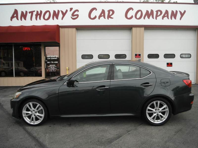2007 Lexus IS 350 for sale at Anthony's Car Company in Racine WI