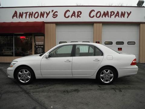 2004 Lexus LS 430 for sale at Anthony's Car Company in Racine WI