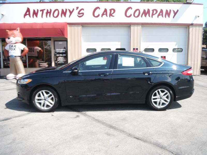 2014 Ford Fusion for sale at Anthony's Car Company in Racine WI