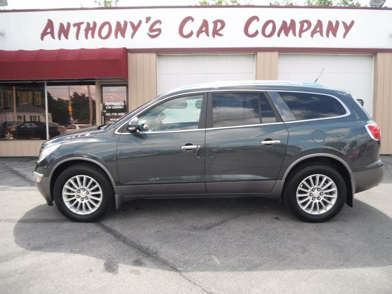 2012 Buick Enclave for sale at Anthony's Car Company in Racine WI