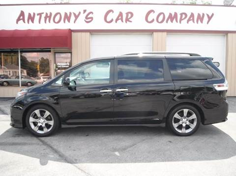 2014 Toyota Sienna for sale at Anthony's Car Company in Racine WI