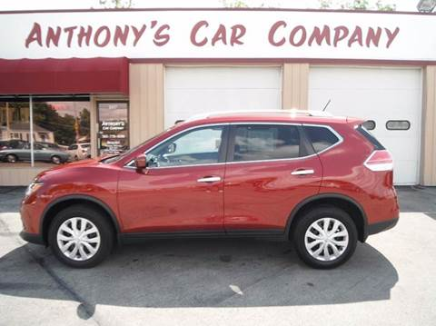 2016 Nissan Rogue for sale at Anthony's Car Company in Racine WI