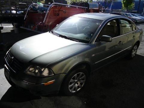 2002 Volkswagen Passat for sale at Crow`s Auto Sales in San Jose CA