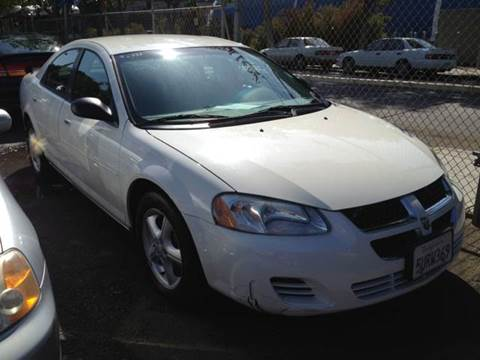 2006 Dodge Stratus for sale at Crow`s Auto Sales in San Jose CA
