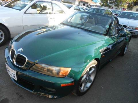 1998 BMW Z3 for sale at Crow`s Auto Sales in San Jose CA