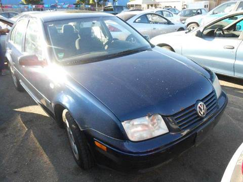 2002 Volkswagen Jetta for sale at Crow`s Auto Sales in San Jose CA