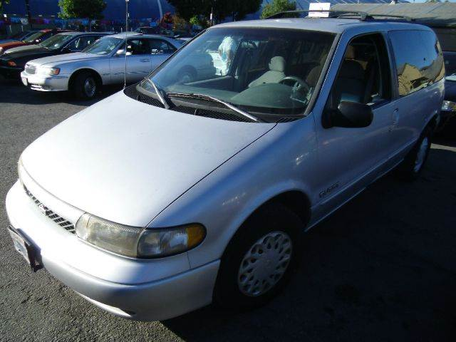1997 NISSAN QUEST XE silver air conditioninganti-brake system non-abs  4-wheel absbody style