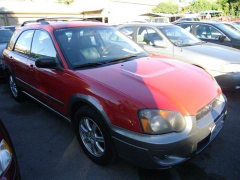 2005 Subaru Impreza for sale at Crow`s Auto Sales in San Jose CA