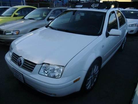 2000 Volkswagen Jetta for sale at Crow`s Auto Sales in San Jose CA