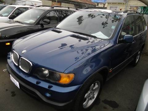 2000 BMW X5 for sale at Crow`s Auto Sales in San Jose CA