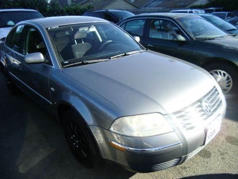 2003 Volkswagen Passat for sale at Crow`s Auto Sales in San Jose CA