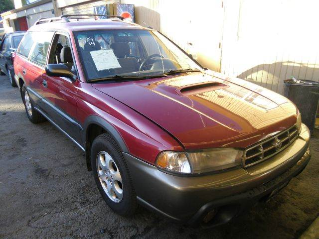 1998 SUBARU LEGACY OUTBACK LIMITED AWD red 4wdawdabs brakesair conditioningalloy wheelsanti-