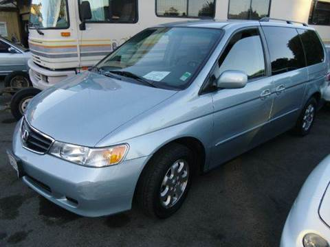 2004 Honda Odyssey for sale at Crow`s Auto Sales in San Jose CA