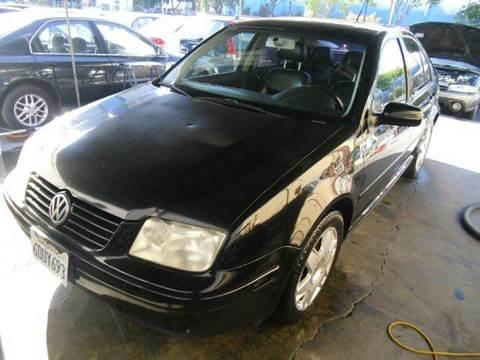 2001 Volkswagen Jetta for sale at Crow`s Auto Sales in San Jose CA