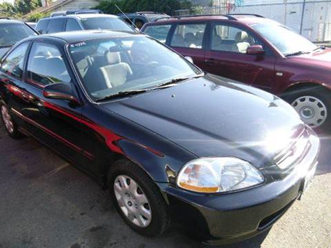 1998 Honda Civic for sale at Crow`s Auto Sales in San Jose CA