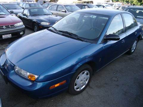 2002 Saturn S-Series for sale at Crow`s Auto Sales in San Jose CA