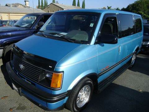 1994 Chevrolet Astro for sale at Crow`s Auto Sales in San Jose CA