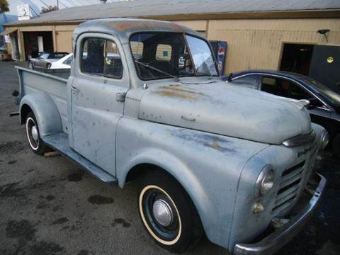 1950 Dodge 5-Window Truck for sale at Crow`s Auto Sales in San Jose CA