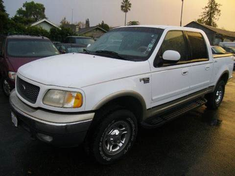 2001 Ford F-150 for sale at Crow`s Auto Sales in San Jose CA
