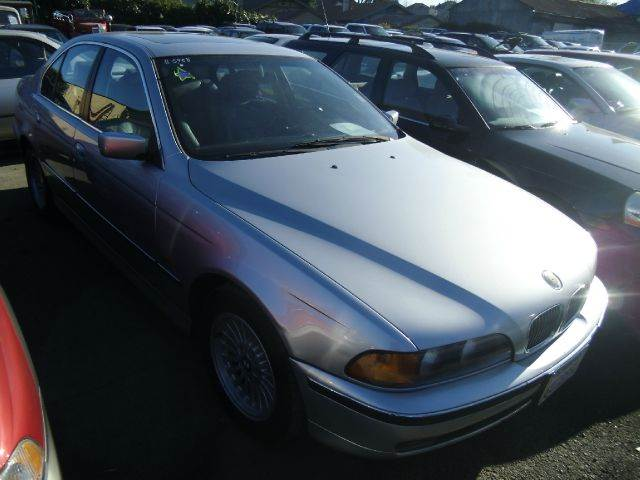 1997 BMW 5 SERIES 540IA silver abs brakesair conditioningalloy wheelsanti-brake system 4-whee