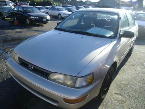 1994 Toyota Corolla for sale at Crow`s Auto Sales in San Jose CA