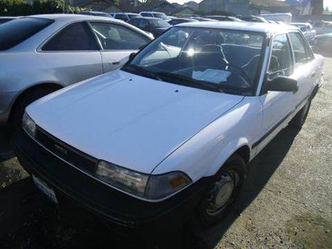 1988 Toyota Corolla for sale at Crow`s Auto Sales in San Jose CA