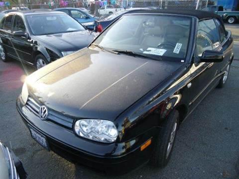 2001 Volkswagen Cabrio for sale at Crow`s Auto Sales in San Jose CA