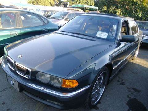 2000 BMW 7 Series for sale at Crow`s Auto Sales in San Jose CA