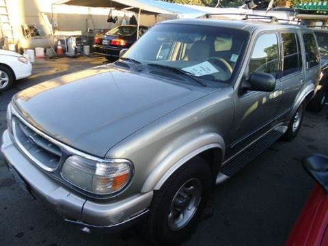 2001 Ford Explorer for sale at Crow`s Auto Sales in San Jose CA